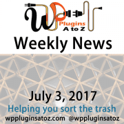 This is weekly round up of WordPress news for July 3, 2017 that I have accumulated from across the web some old some new but always interesting. The new relates to WordPress and sometimes other areas of the web. It often has a focus on security and more.
