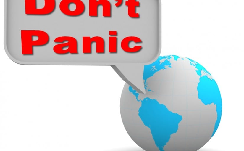 Don't Panic The Solution is at Hand