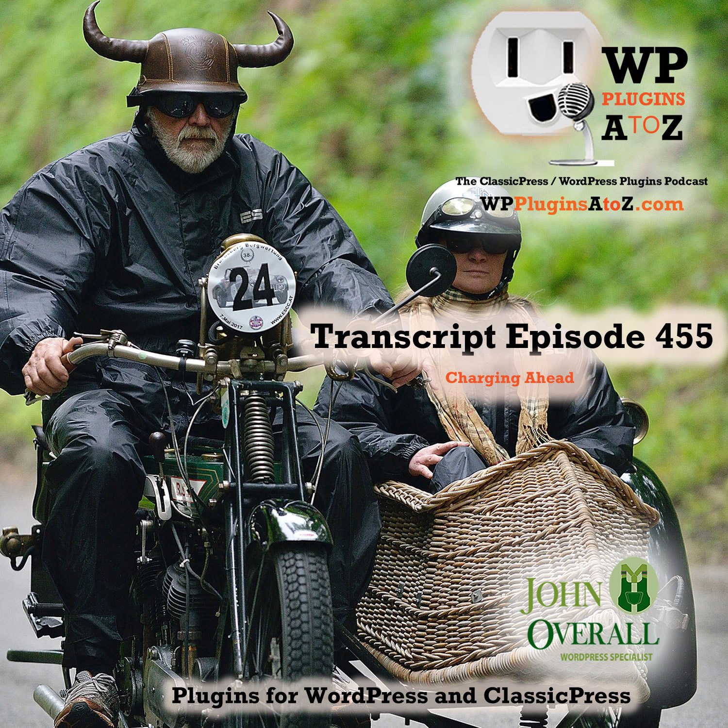 It's Episode 455 with plugins for Collecting Tithes Controlling the Elements, Sticking it to the Top, and ClassicPress Options. It's all coming up on WordPress Plugins A-Z!
