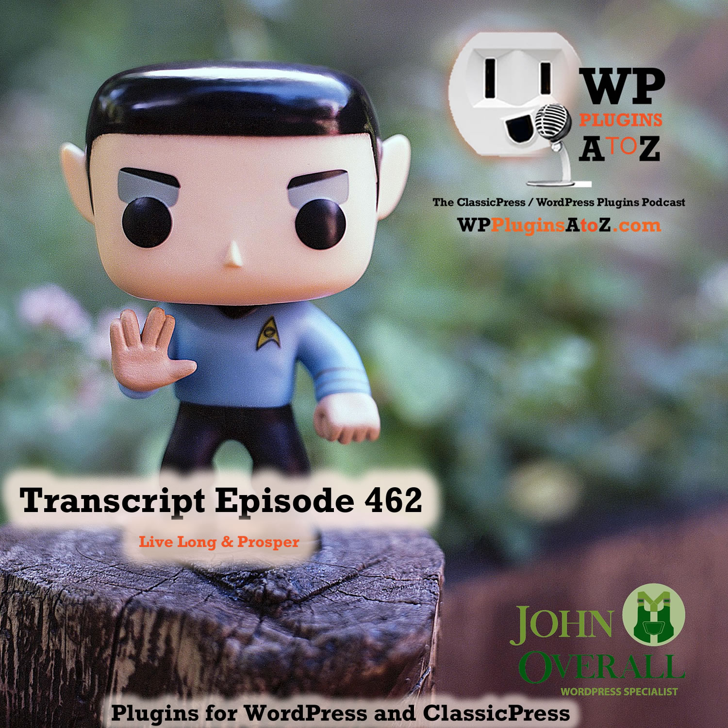 It's Episode 462 with plugins for Deleting Items, Re-Ordering Your Life, Removing those Attachments and ClassicPress Options. It's all coming up on WordPress Plugins A-Z!