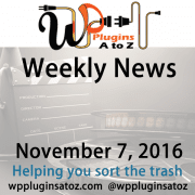 This is a weekly round up of WordPress news I have accumulated from across the web some old some new but always interesting. The new relates to WordPress and sometimes other areas of the web. It often has a ficus on security and more.